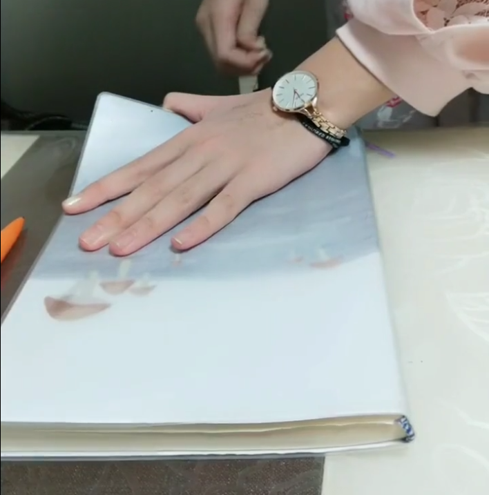 Use a line and ink to make a beautiful picture