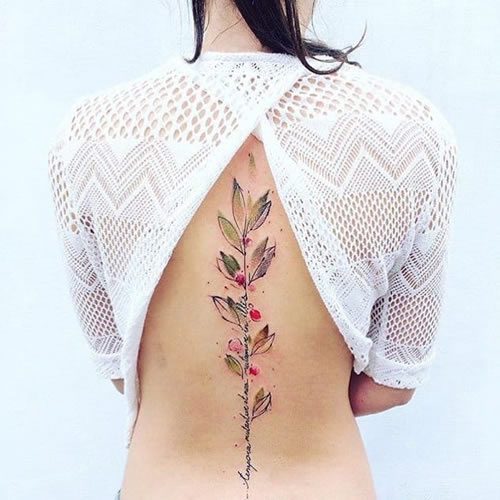 Back tattoos of a woman; Ribbon tattoos; Flower tattoos; Cross tattoos; Little prince tattoos; Symbol tattoo; Pattern tattoos; Back tattoos