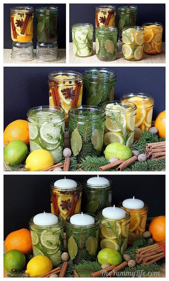 Natural Scent Make Your Home Smell Like Summer candle, fruit, natural, DIY natural scent