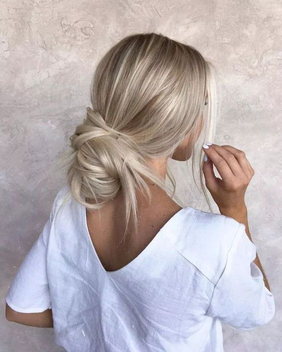 35 Simple Long Hair Style You Can Copy Now easy and simple hairstyle
