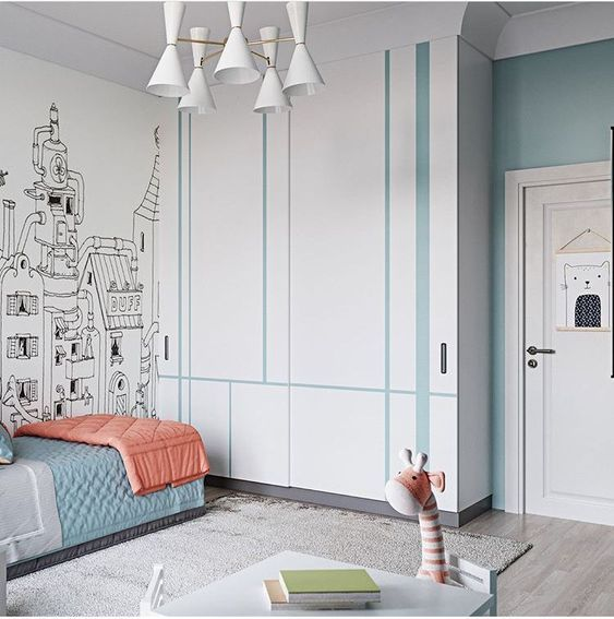 35 bedroom wardrobes to keep your room tidy Practical and beautiful wardrobe